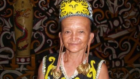 Dayak Culture experience trip tours kalimantan Indonesia