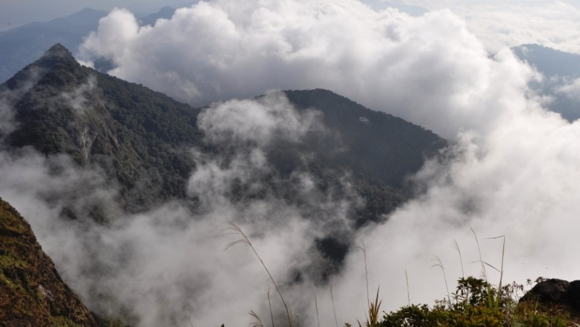 mount meratus trek jungle rain forest guide tour, trip adventure expedition dayak culture