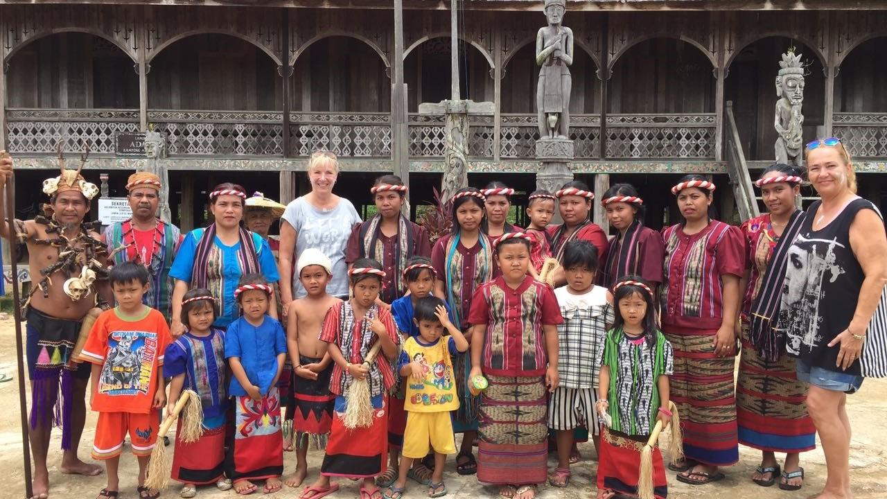 Dayak Culture experience trip tours kalimantan Indonesia